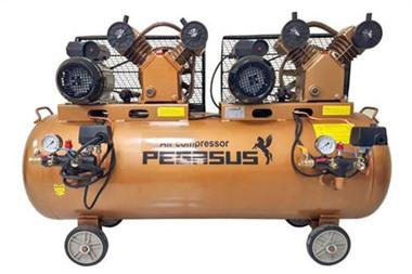 Máy nén khí piston Pegasus TM-V-0.25/8x2-3HPx2-230L